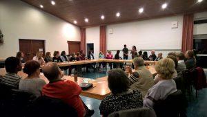 Infoveranstaltung der Asylhilfe Bruckmühl, Oktober 2016