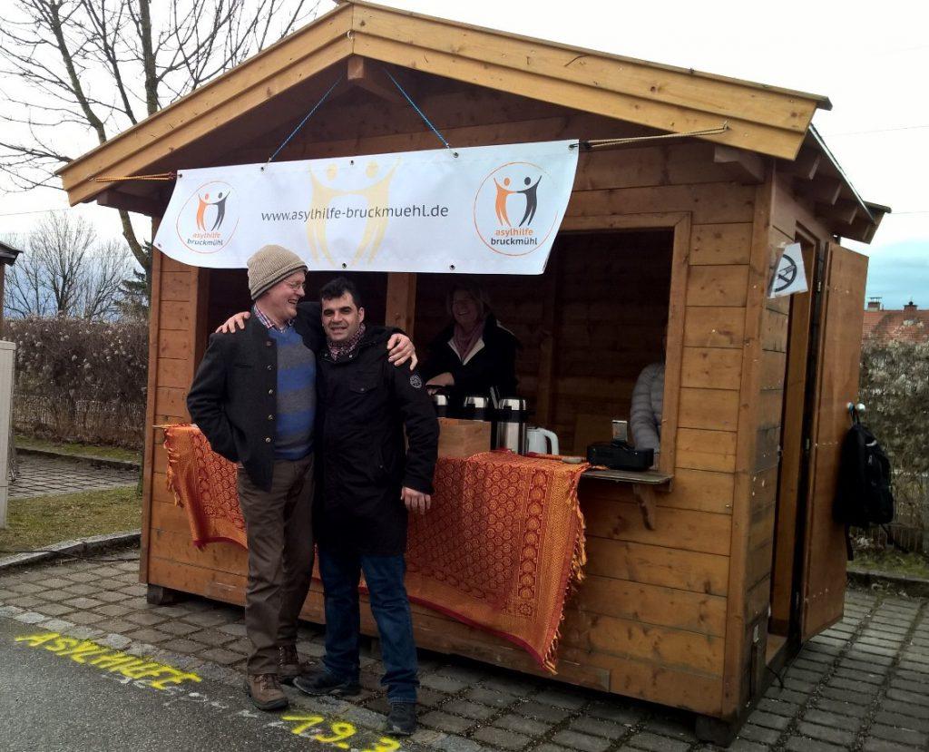 Asylhilfe Bruckmühl beim Josefi-Markt 2017