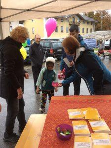 Asylhilfe Bruckmühl - Michaelimarkt 2017